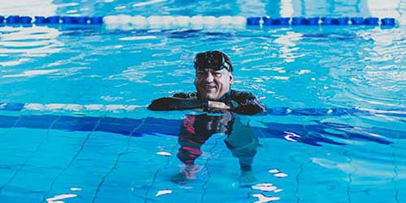 Druhé místo Mirka Ševčíka na Mistrovství Polska ve freedivingu